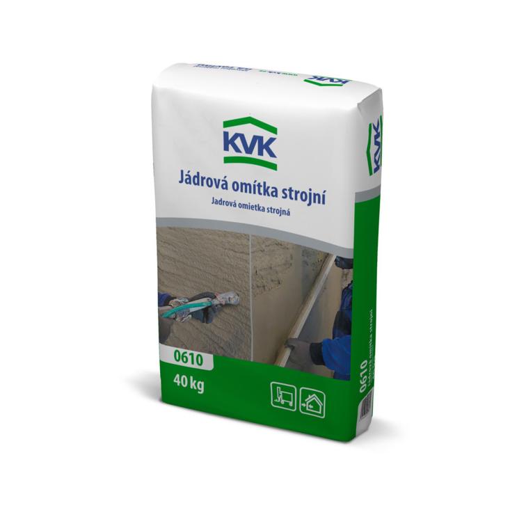 0610 KVK Plaster and render base coat, machine applied