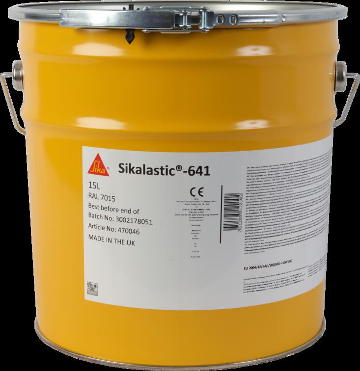Sikalastic®-641, Flüssigkunststoff