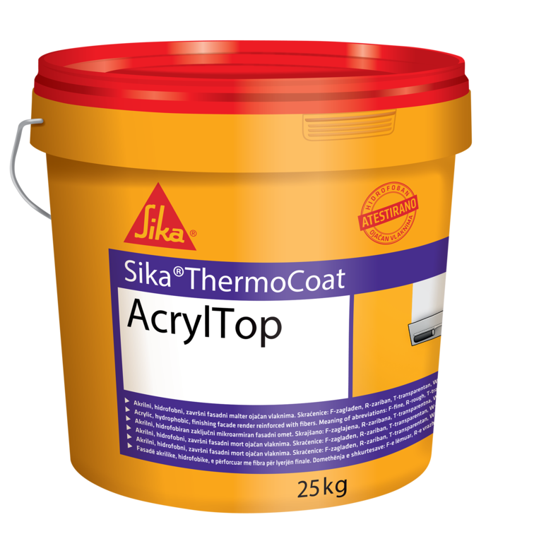 Sika® ThermoCoat Acryl Top