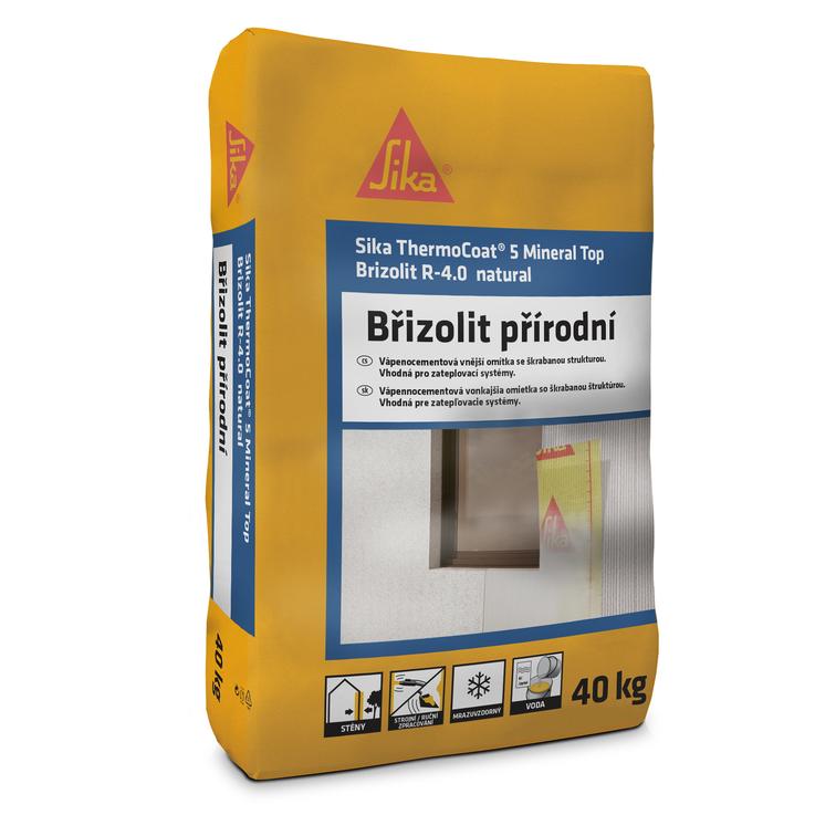 Sika ThermoCoat®-5 Mineral Top Brizolit