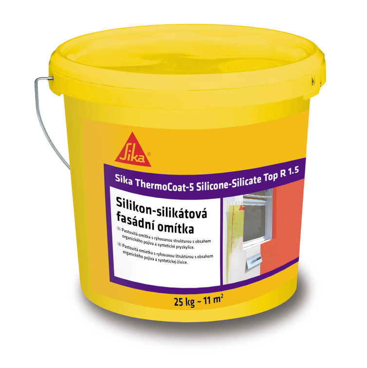 Sika ThermoCoat®-5 Silicone-Silicate Top