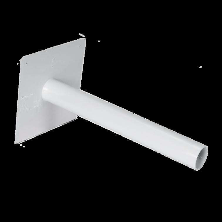Notüberlauf rund (PVC)