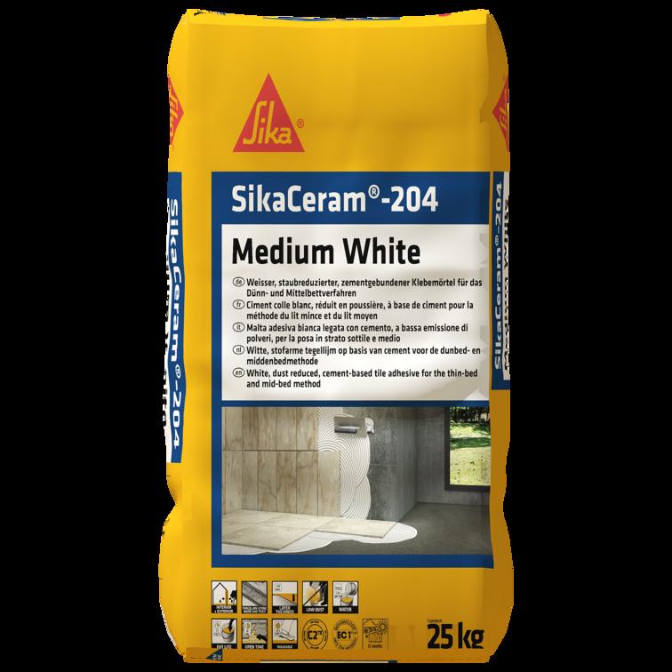 SikaCeram®-204 Medium White