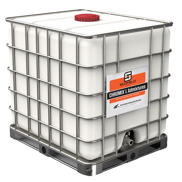 CHROMIX® L Admixtures for Color-Conditioned® Concrete