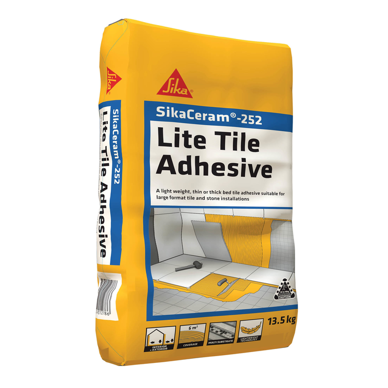 SikaCeram®-252 Lite Tile Adhesive