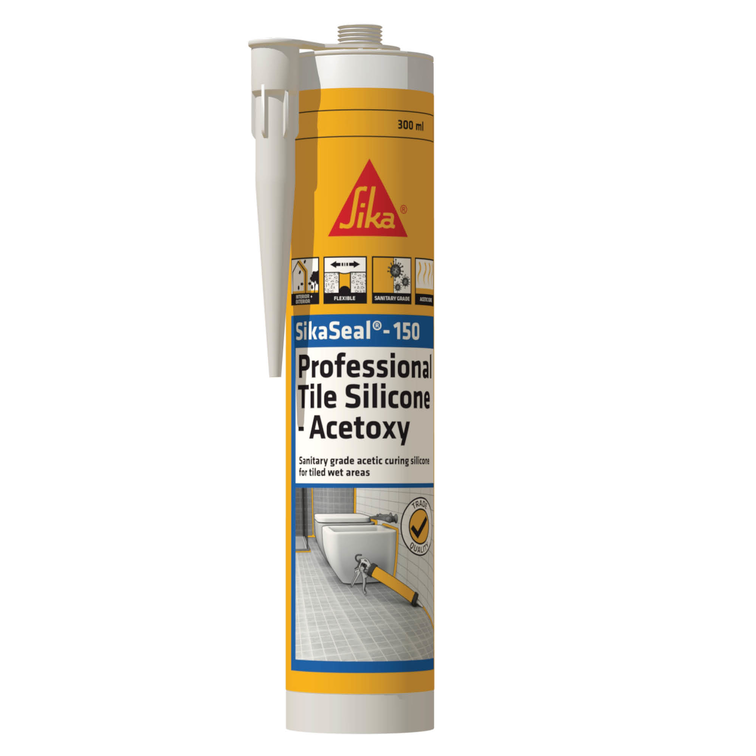 SikaSeal®-150 Professional Tile Silicone - Acetoxy
