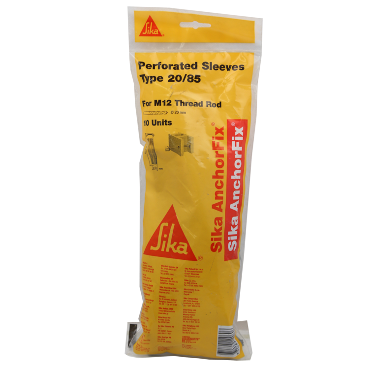 Sika AnchorFix® Perforated Sleeves