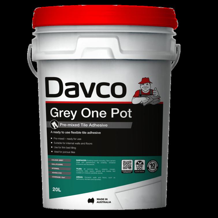 Davco Grey One Pot adhesive