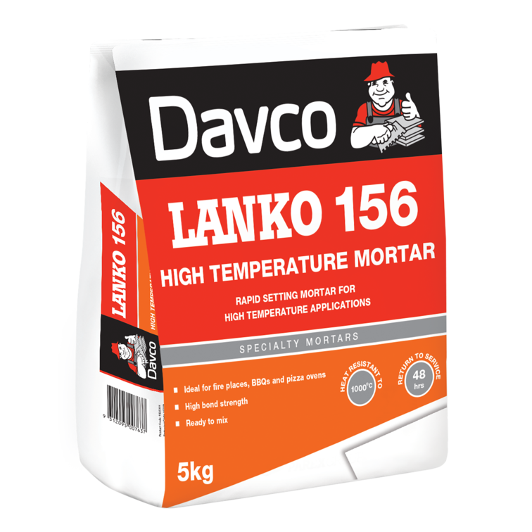 LANKO 156 High Temperature Mortar