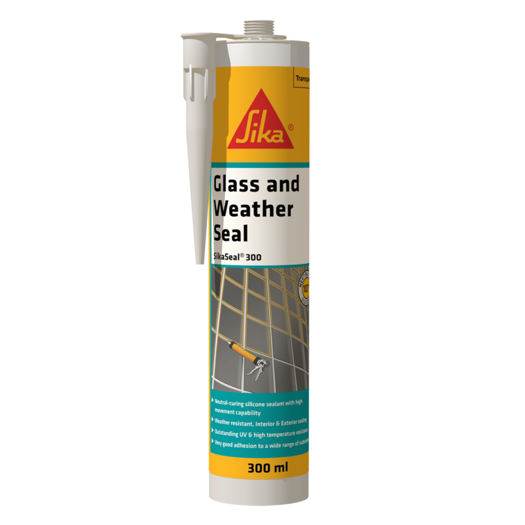SikaSeal®-300 Glass and Weather Seal