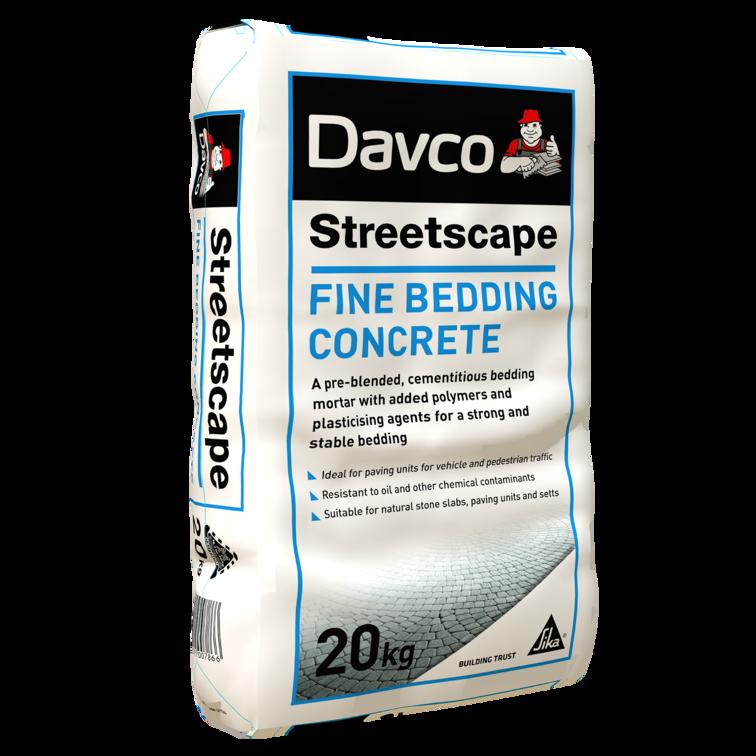 Davco Streetcape Fine Bedding Concrete