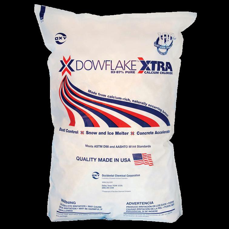 DOWFLAKE™ XTRA 83-87% CALCIUM CHLORIDE