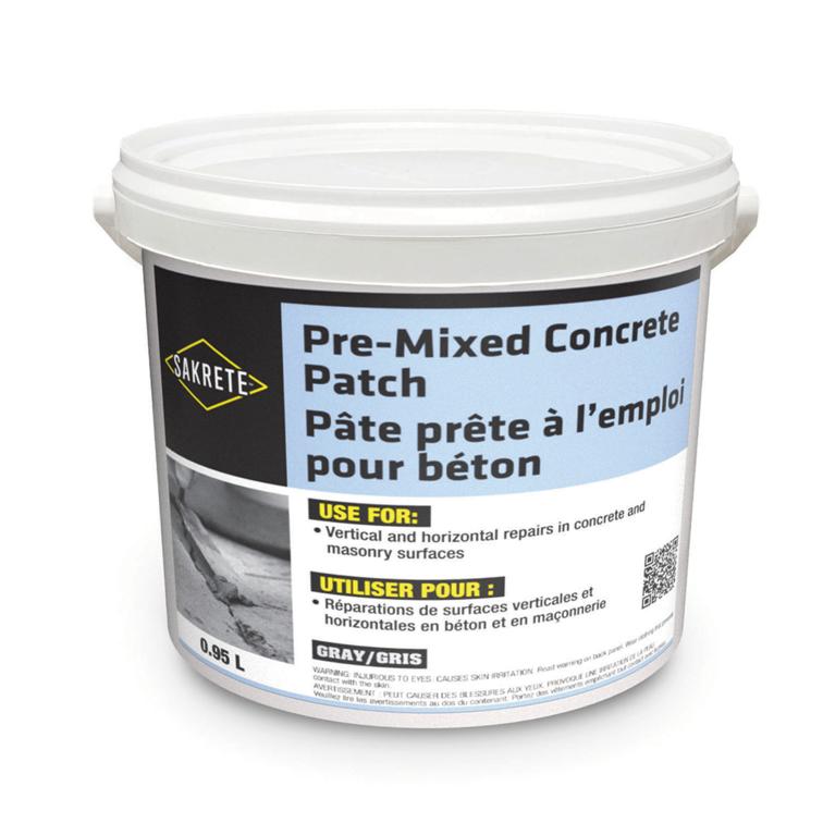 SAKRETE Pre-Mixed Concrete Patch
