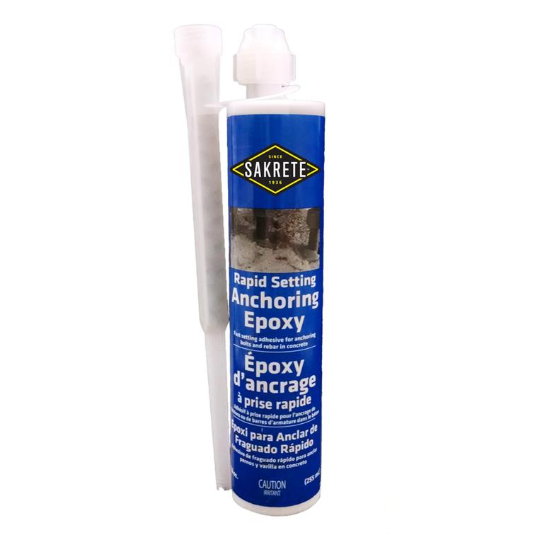SAKRETE Rapid Setting Anchoring Epoxy
