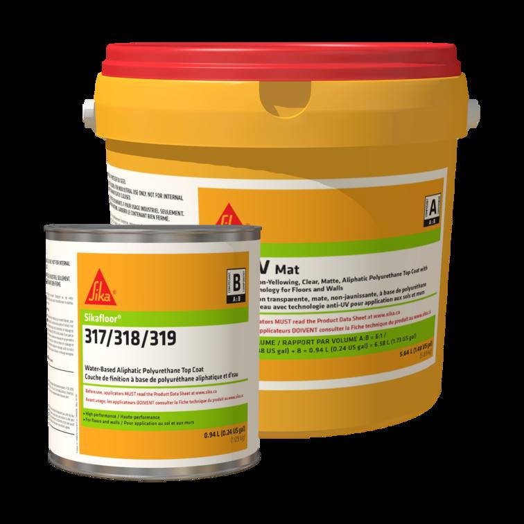 Sikafloor®-317 UV - Mat