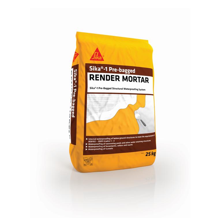 Sika®-1 Pre-bag Render Mortar