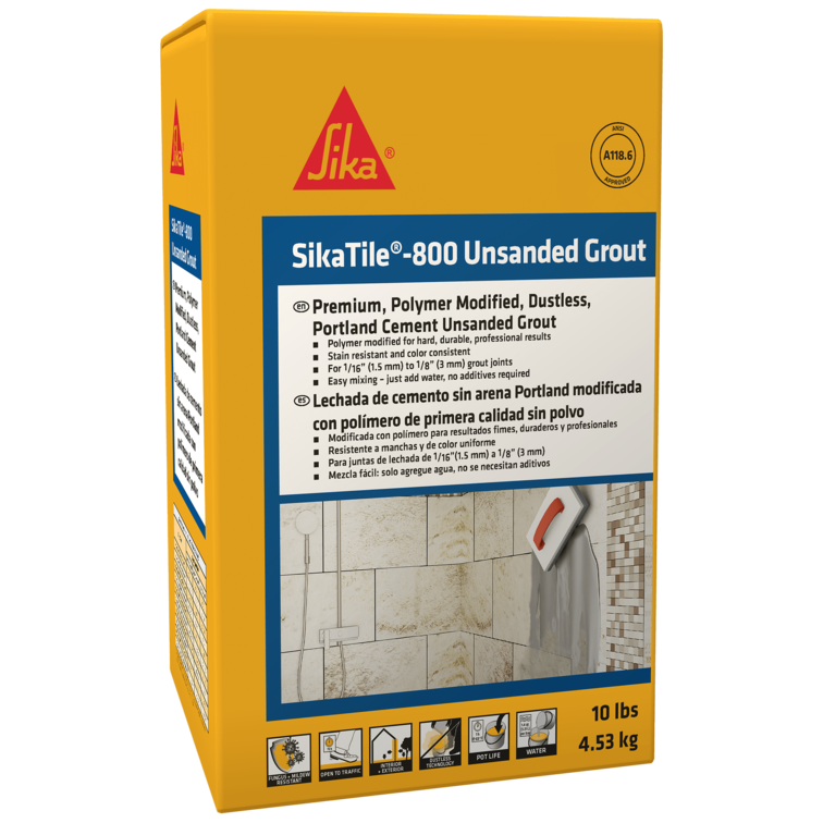 SikaTile®-800 Unsanded Grout