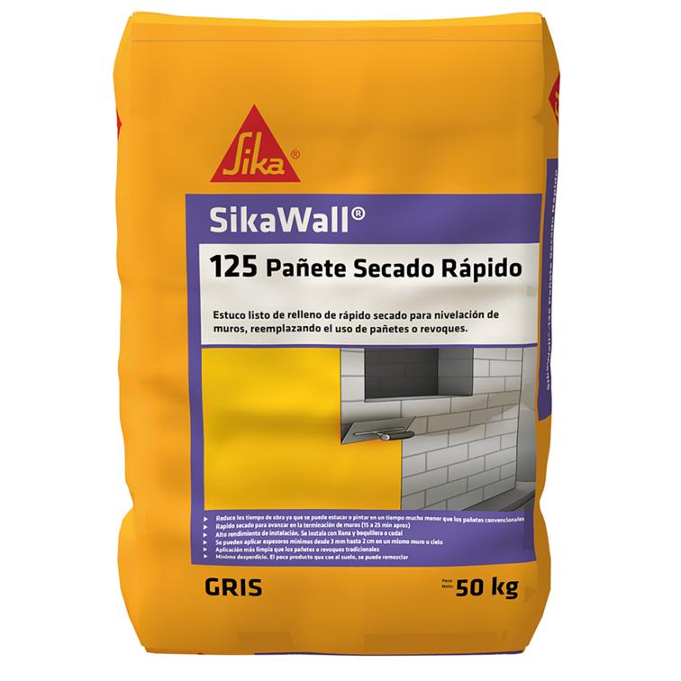 SikaWall®-125 Pañete Rapido Secado