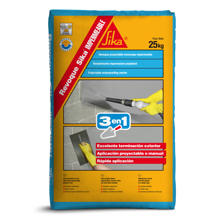 Revoque Sika® Impermeable