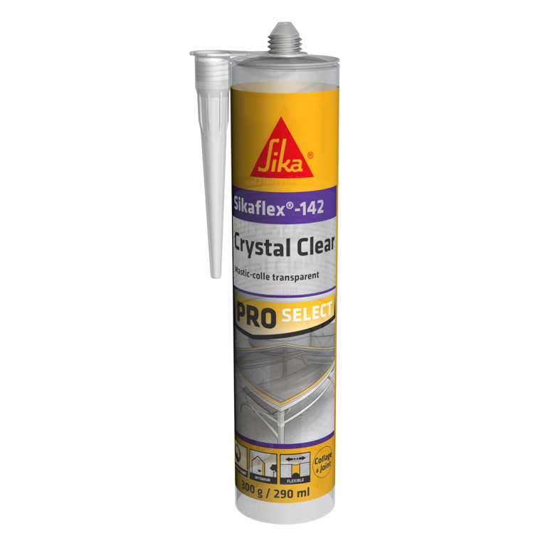 Sikaflex®-142  Crystal Clear