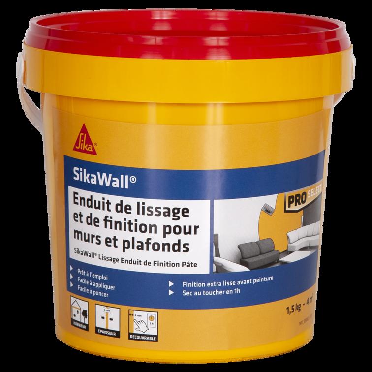 SikaWall® Lissage Enduit de Finition Pâte