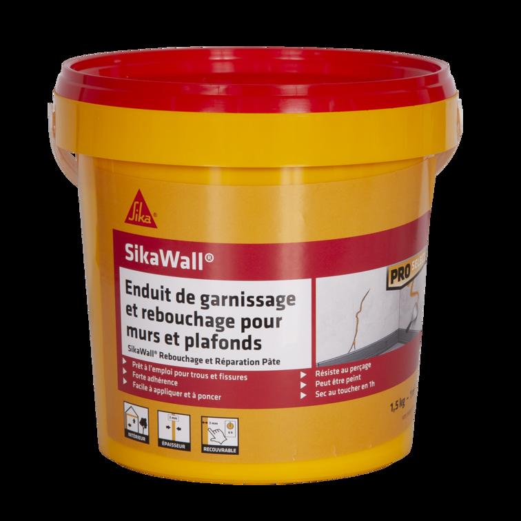 SikaWall® Rebouchage et Réparation Pâte