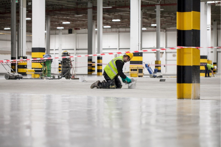 Sika's floor coating systems for industrial facilities