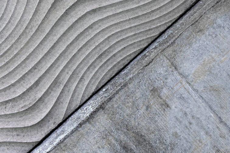 Architectural texture for concrete wall
