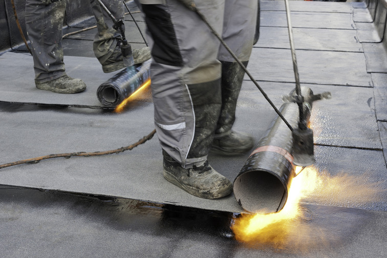 Torch-applied bituminous membrane rolls for waterproofing roofs, basements, below-ground structures, bridges and more
