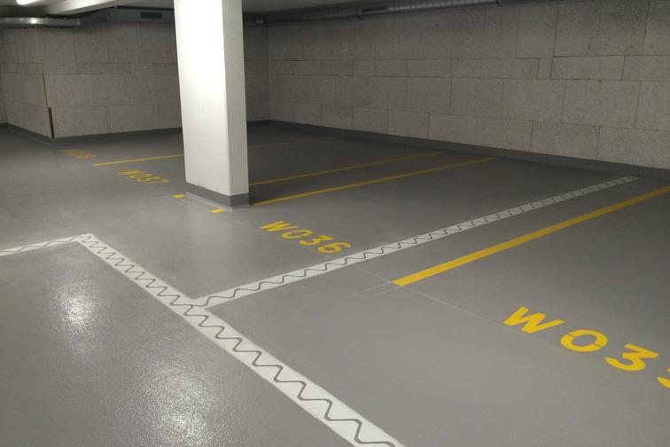 floor joint parking garage