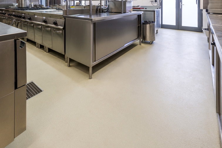 Industrial flooring solutions for hygienic, seamless and able to withstand rigorous cleaning regimes.