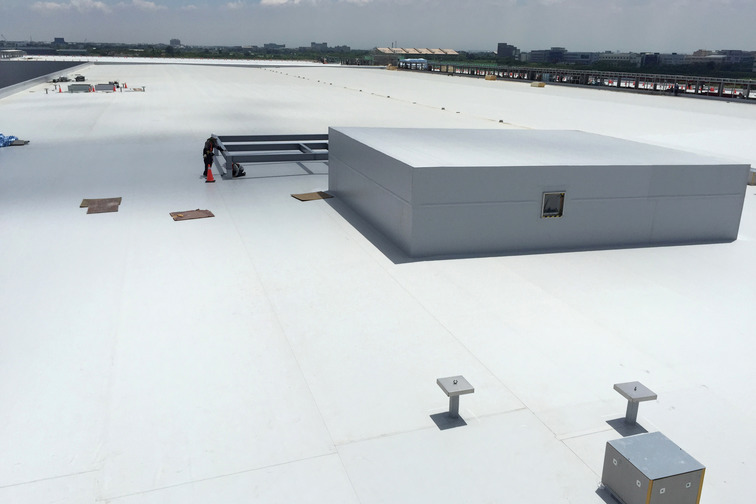 Cool Roof Systems to repel heat as the outermost layer contains reflective material.