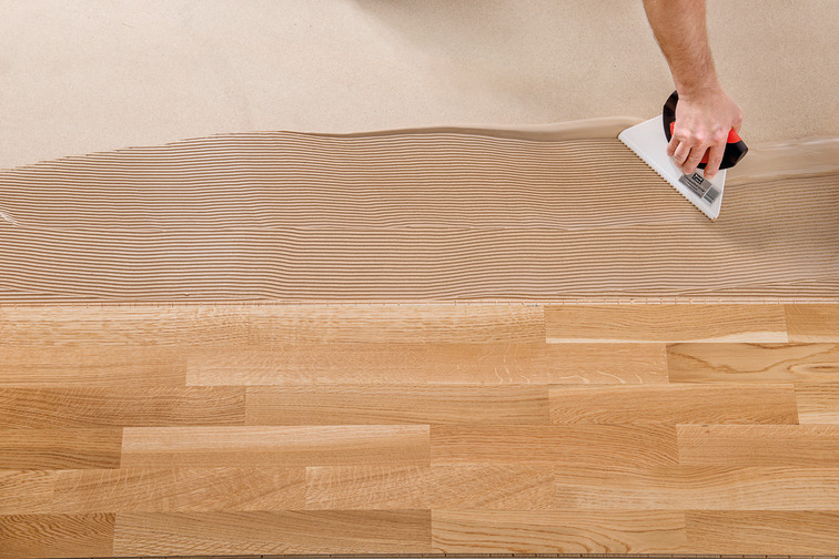 Sika's SikaBond® wood floor adhesive for a strong bond