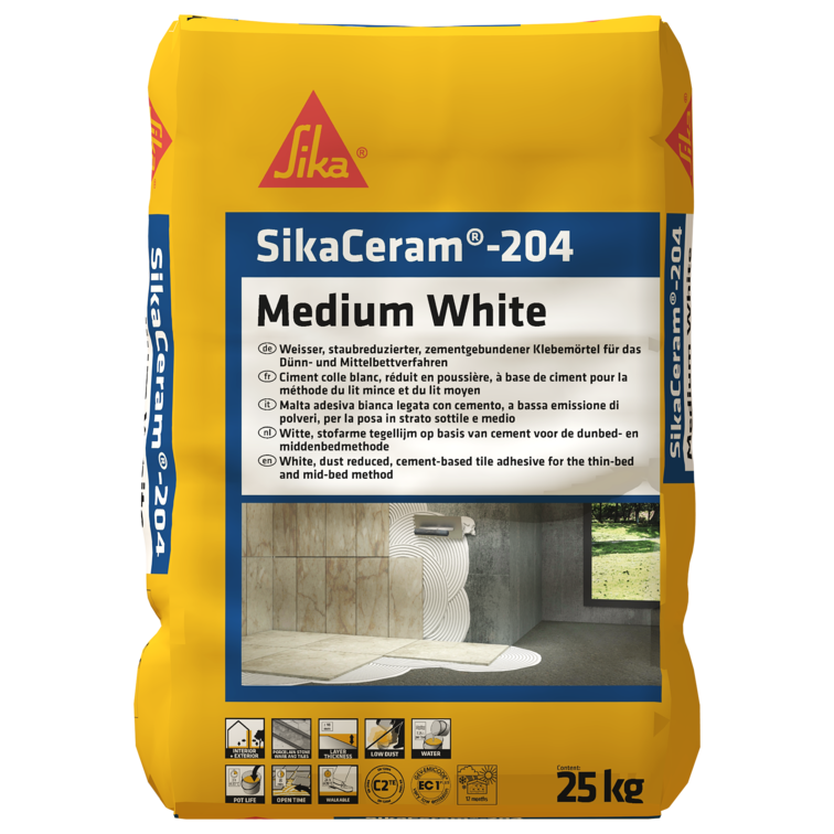 SikaCeram®-204 Medium White