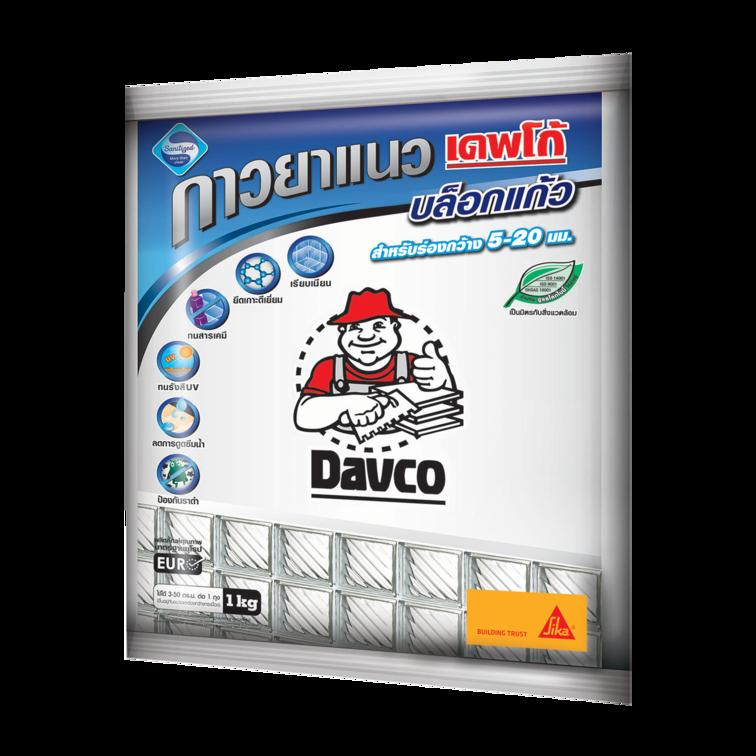 Davco GLASSBLOCK DUSTLESS