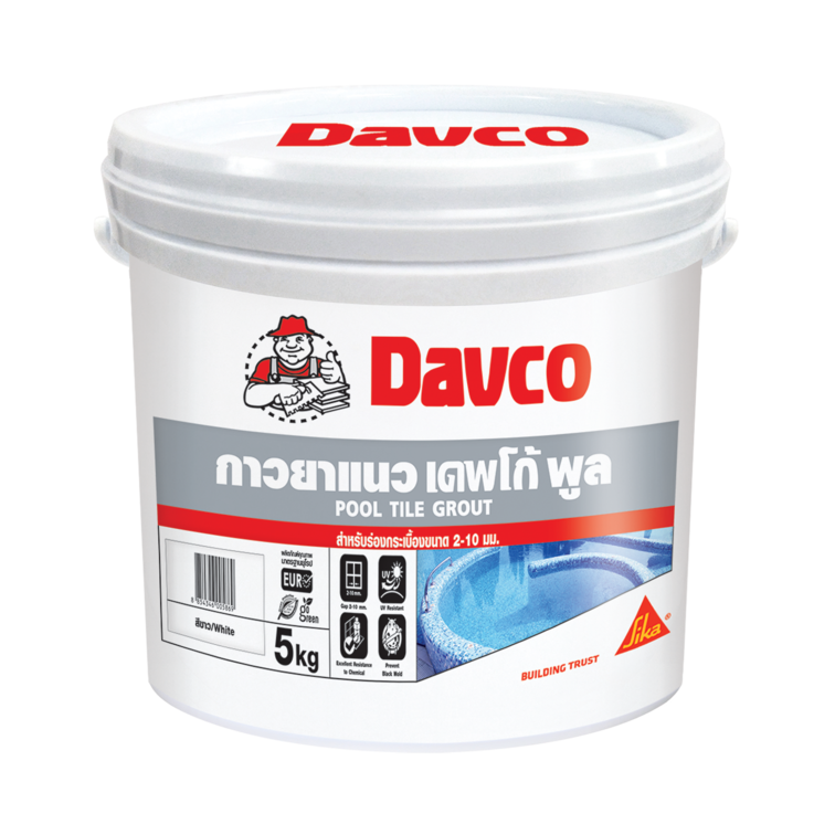 DAVCO POOL TILE GROUT