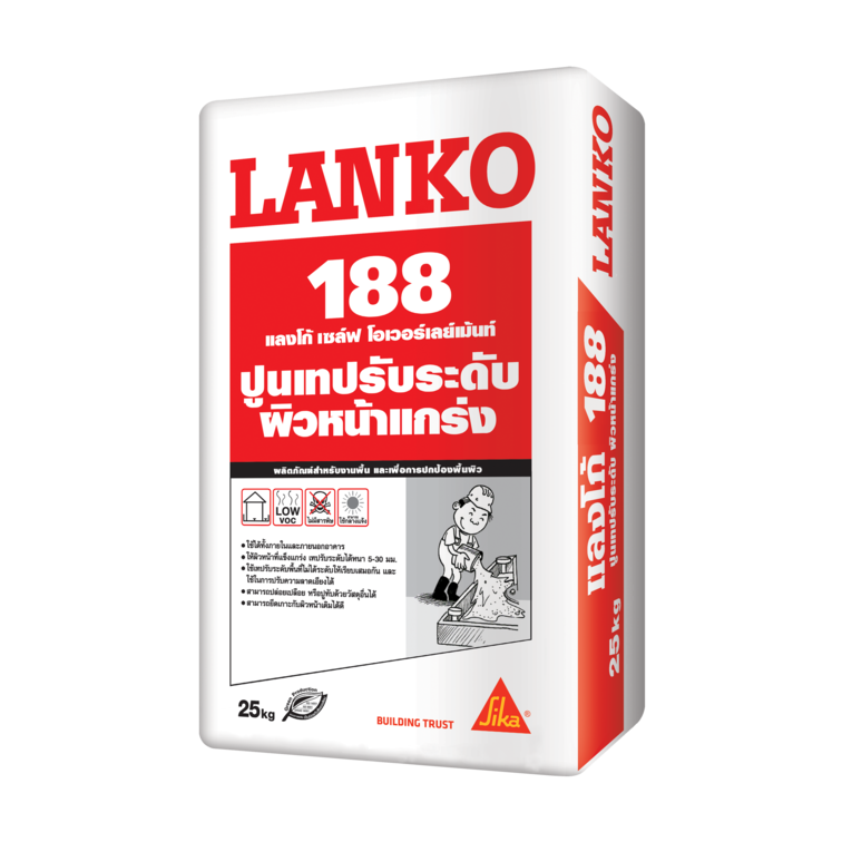 LANKO 188 FIBER LEVELLING SCREED
