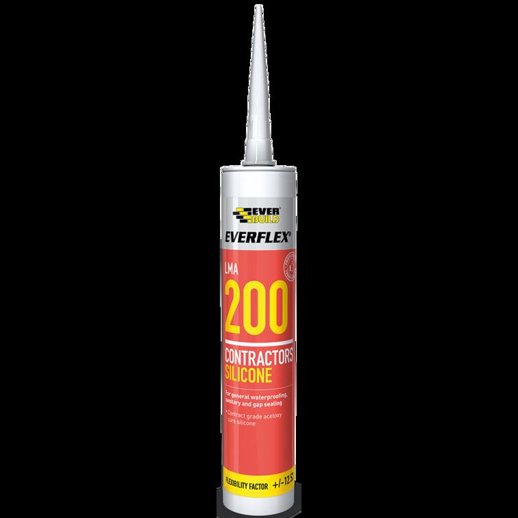EVERBUILD® EVERFLEX® 200 Contractors LMA Silicone