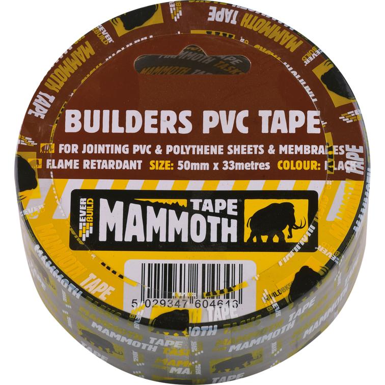 EVERBUILD® MAMMOTH® BUILDERS PVC TAPE