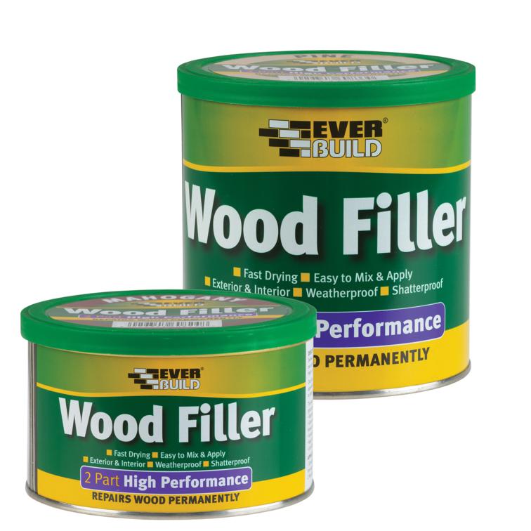 EVERBUILD® 2-Part High Performance Wood Filler