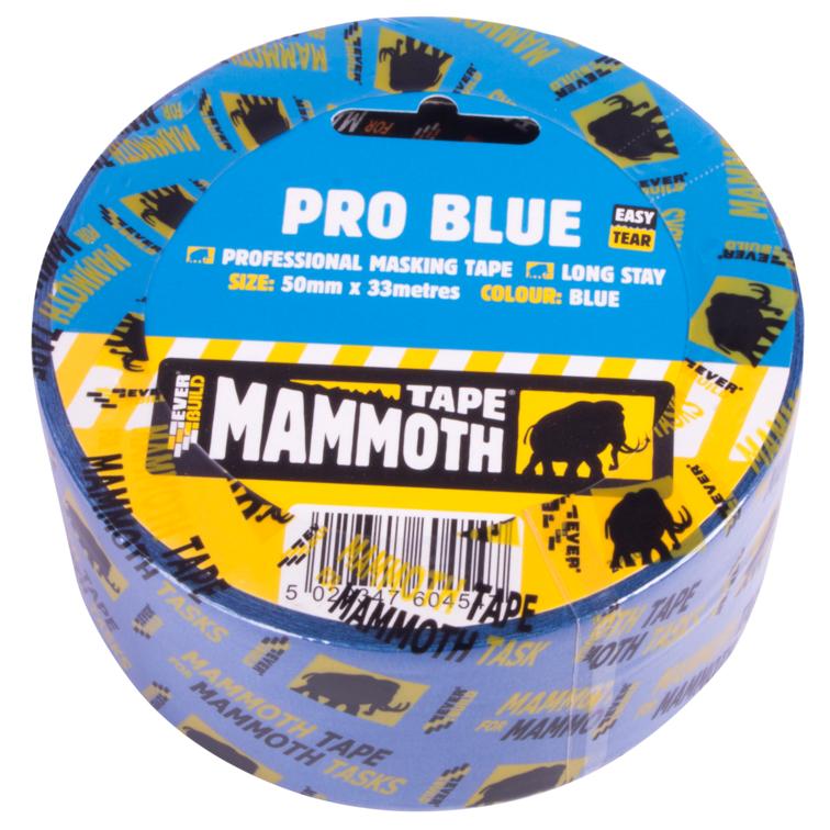EVERBUILD® MAMMOTH® PRO BLUE MASKING TAPE