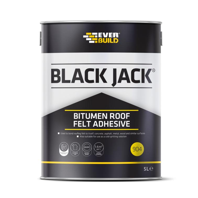 EVERBUILD® BLACK JACK® 904 BITUMEN ROOF FELT ADHESIVE
