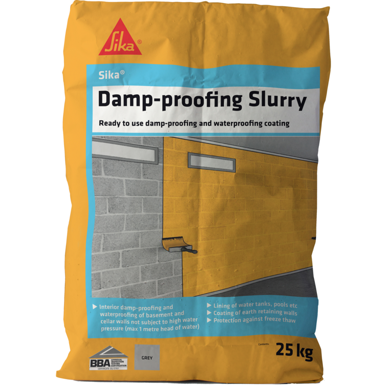 Sika® Damp Proofing Slurry