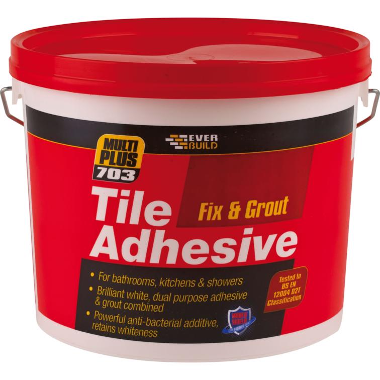 EVERBUILD® 703 Fix & Grout Tile Adhesive