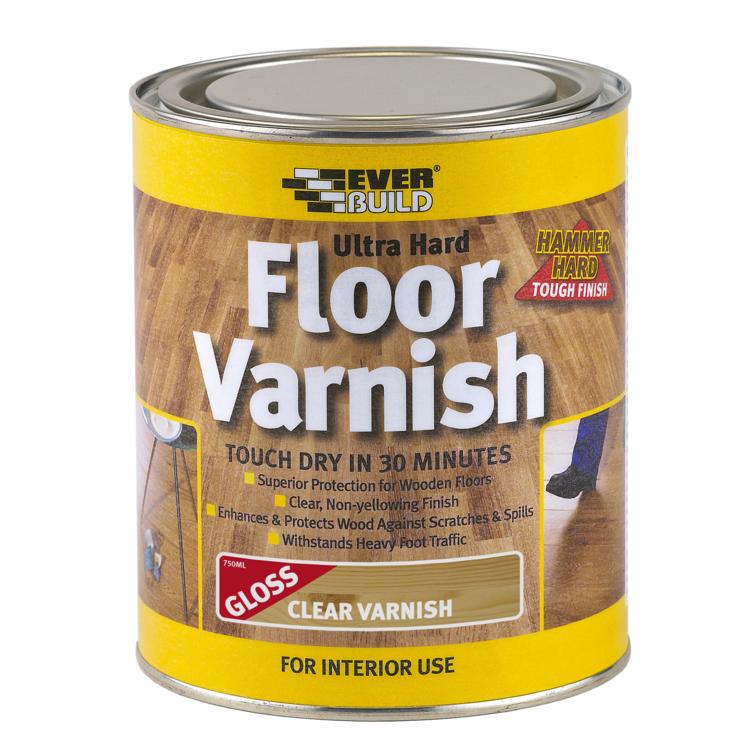 EVERBUILD® Ultra Hard Floor Varnish