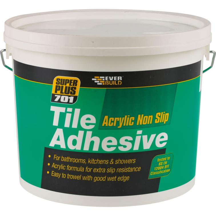 EVERBUILD® 701 Non Slip Tile Adhesive