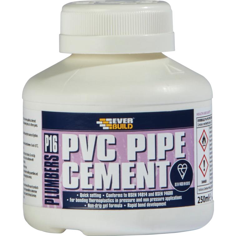EVERBUILD® P16 PVC Pipe Cement