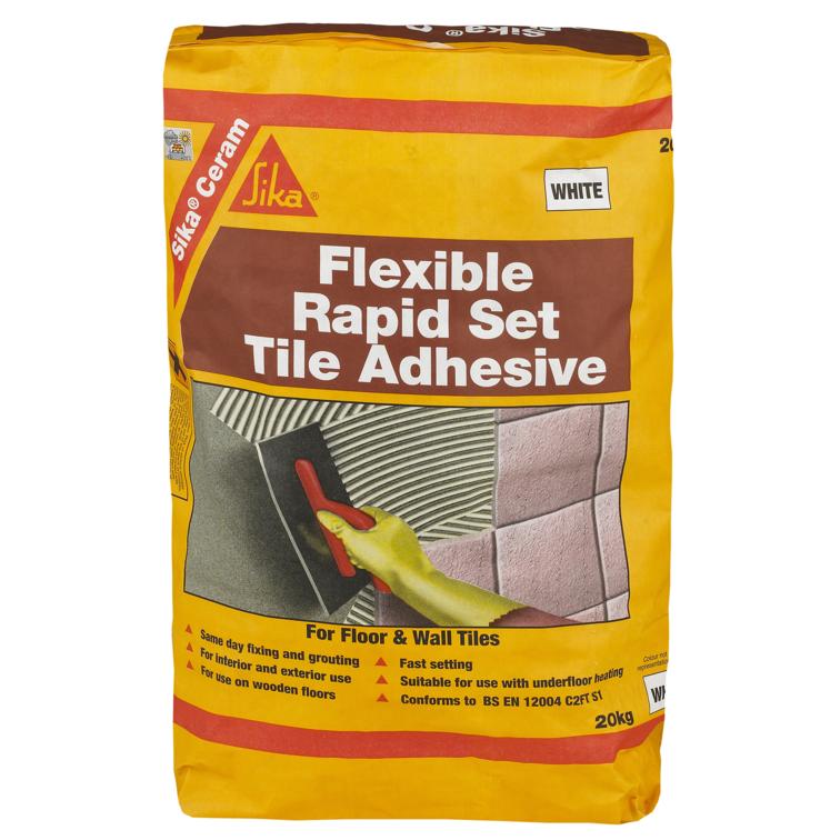 SikaCeram® Flexible Rapid Set Tile Adhesive