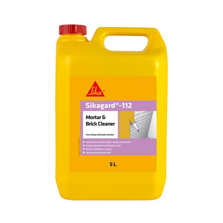 Sikagard®-112 Mortar & Brick Cleaner