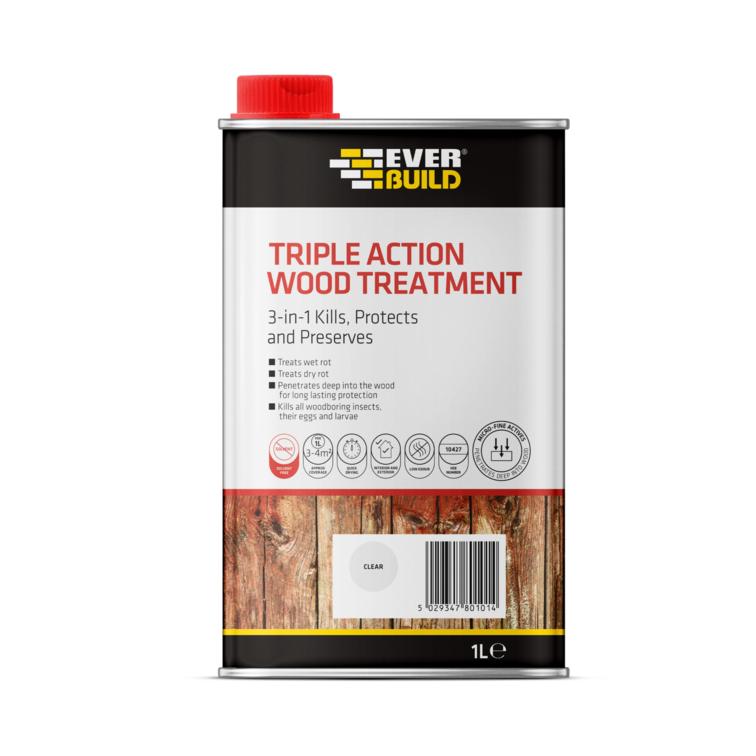 EVERBUILD® Triple Action Wood Treatment